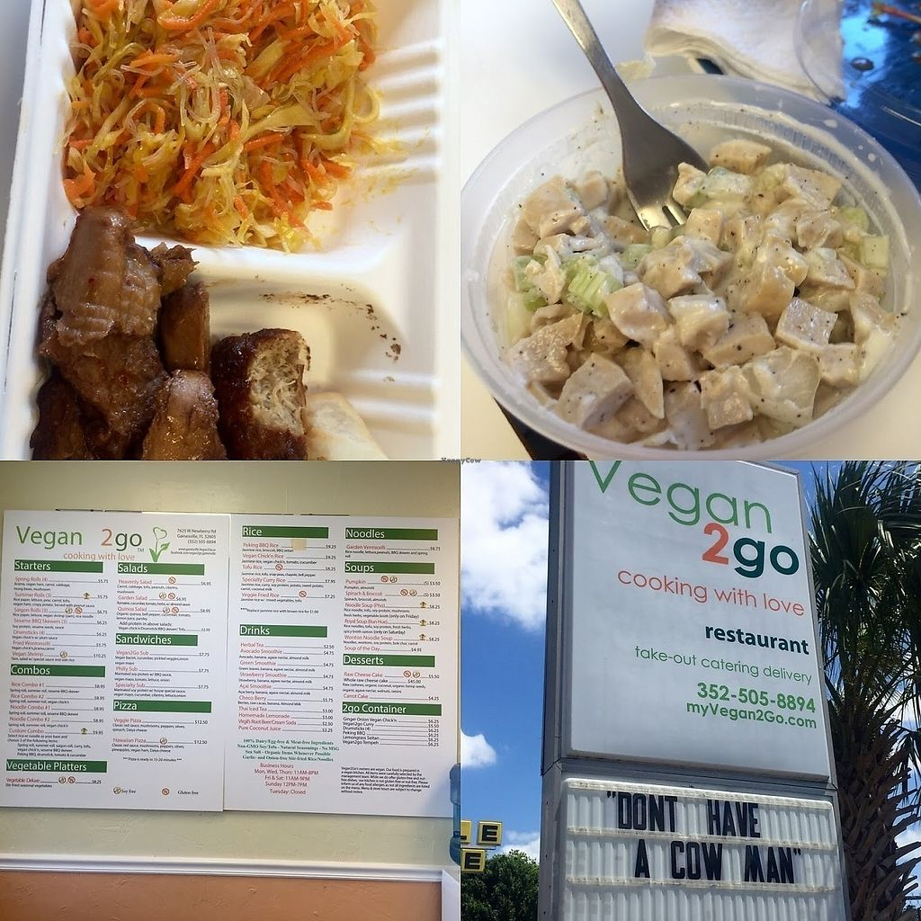 Vegan2go At Health Bistro In Gainesville