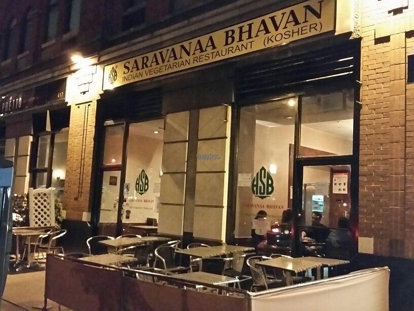 Outside At Saravana Bhavan Upper West Side In New York City