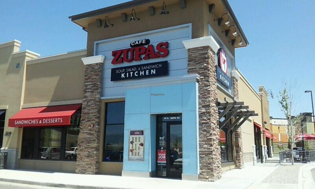 Cafe Zupas Draper Utah Restaurant Happycow