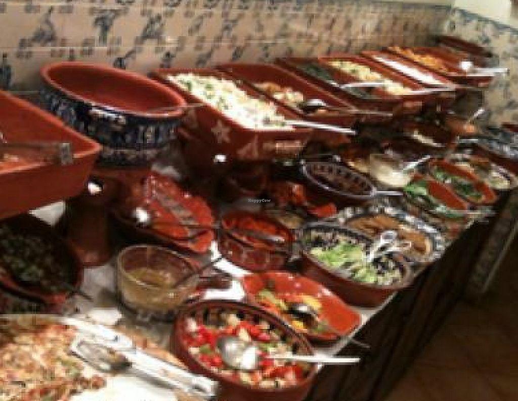 The Buffet At Terra Restaurante Natural In Lisbon