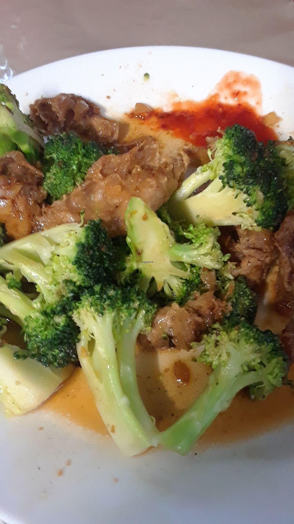 Beef Broccoli At Van Hanh Vegetarian Restaurant In Portland