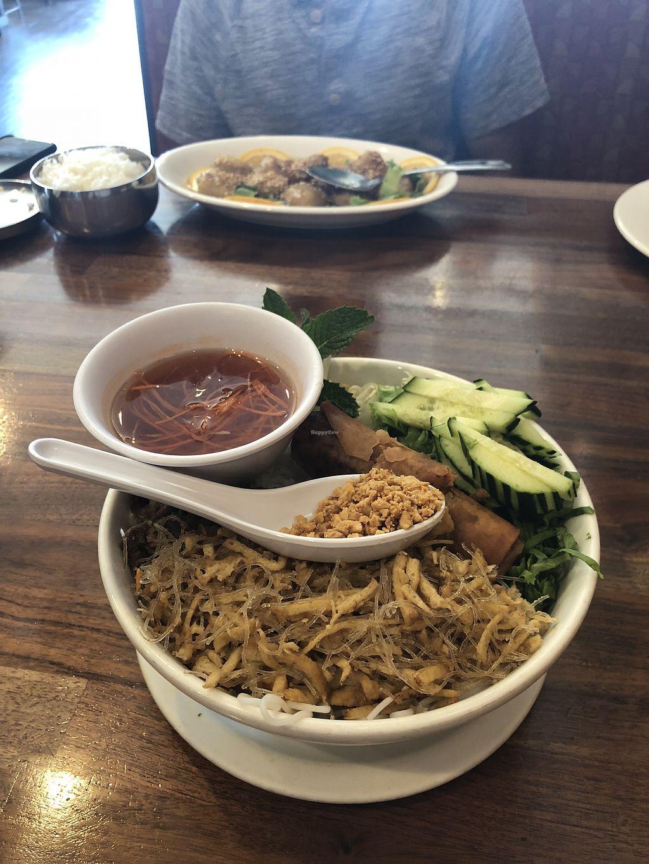 Yum Vermicelli At Blossom Vegan Restaurant In Pleasanton