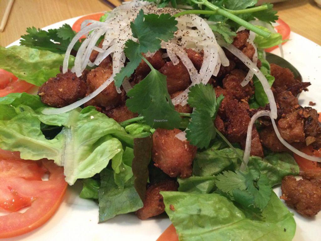 Soy Beef Bbq At Blossom Vegan Restaurant In Pleasanton