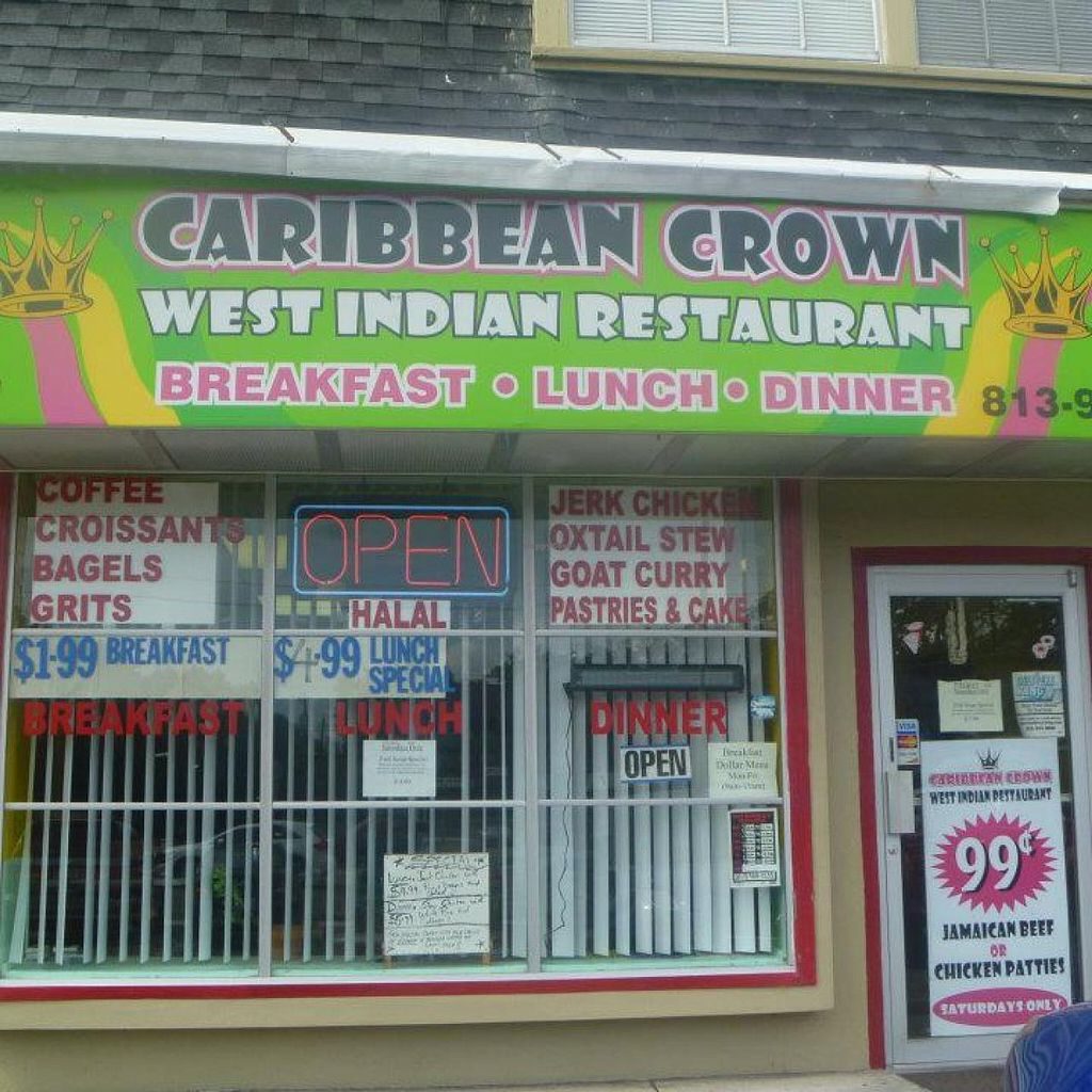 Caribbean Crown West Indian Restaurant Tampa Florida Restaurant