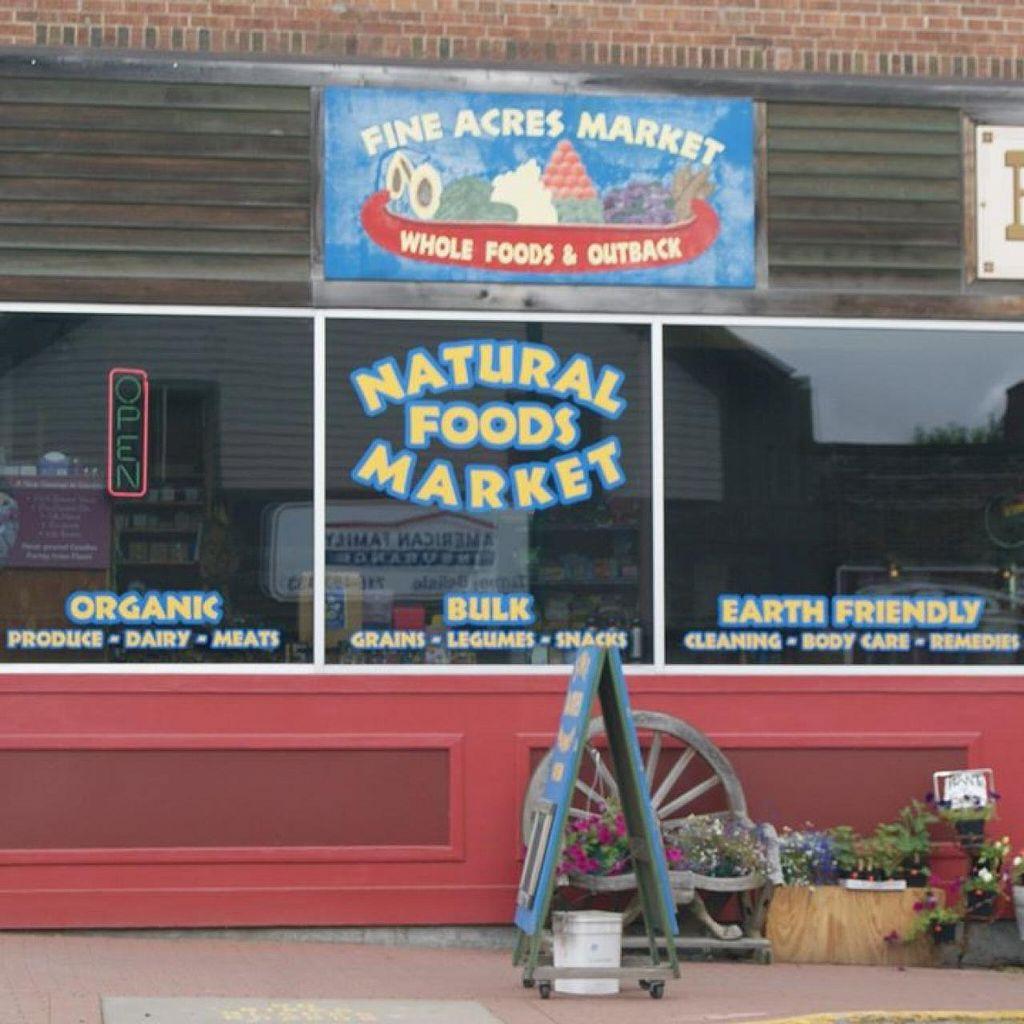 Fine Acres Market St Croix Falls Wisconsin Health Store Happycow