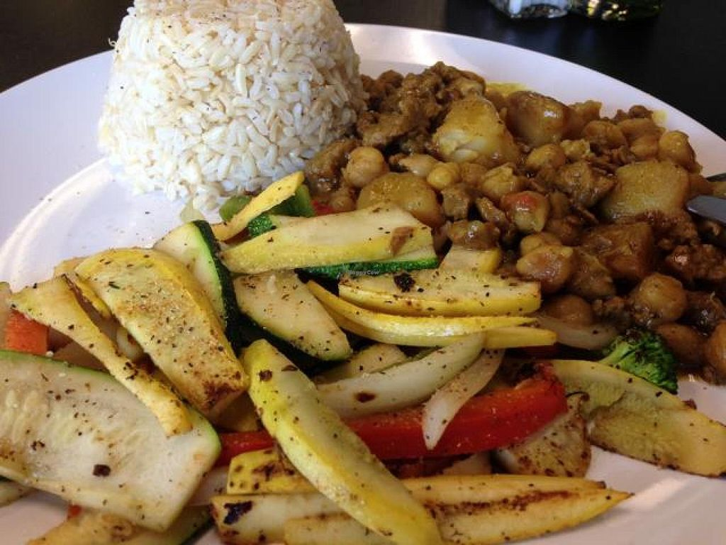 Caribbean Curry At Avocado Vegan Cafe In Alpharetta