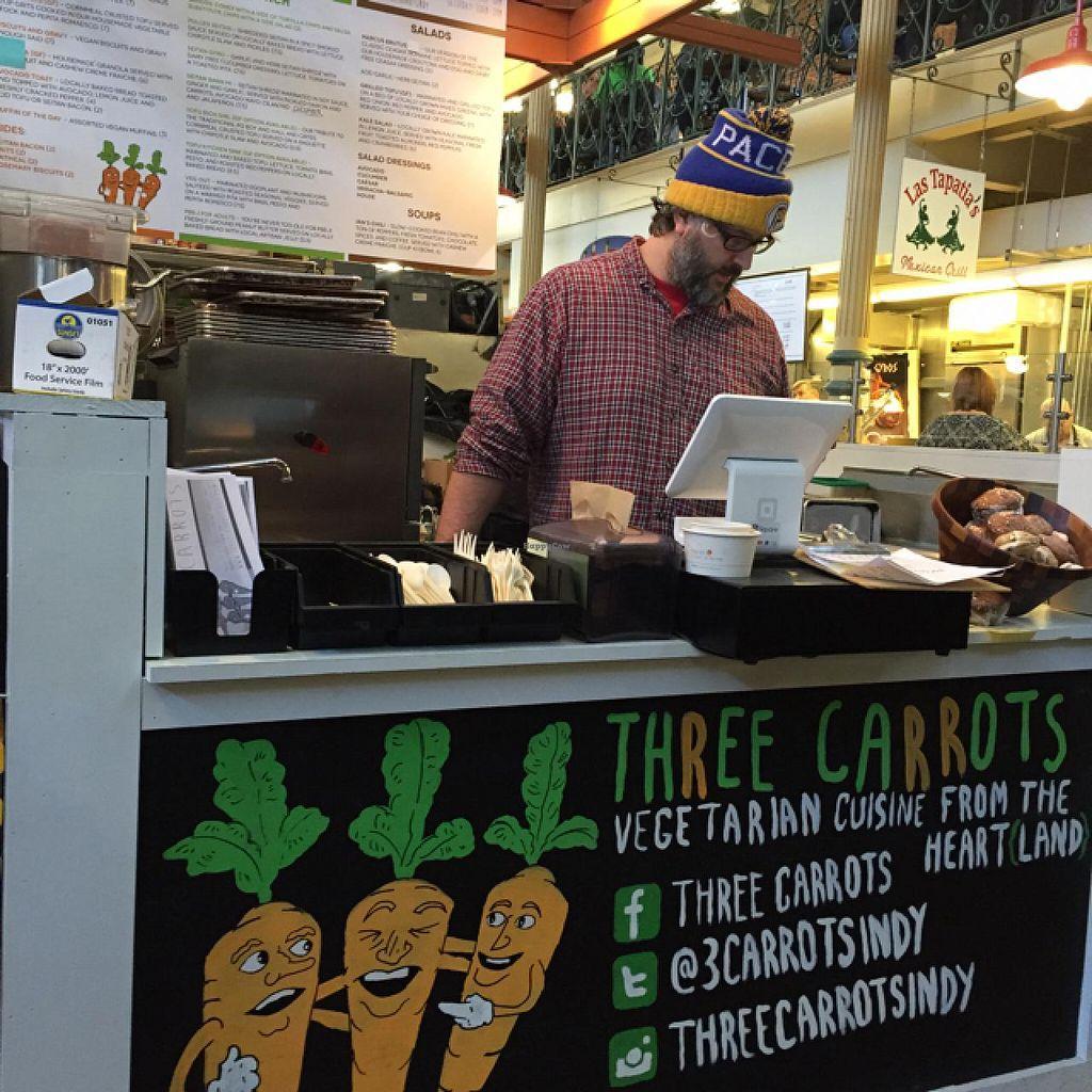 Three Carrots City Market Indianapolis Indiana Restaurant Happycow