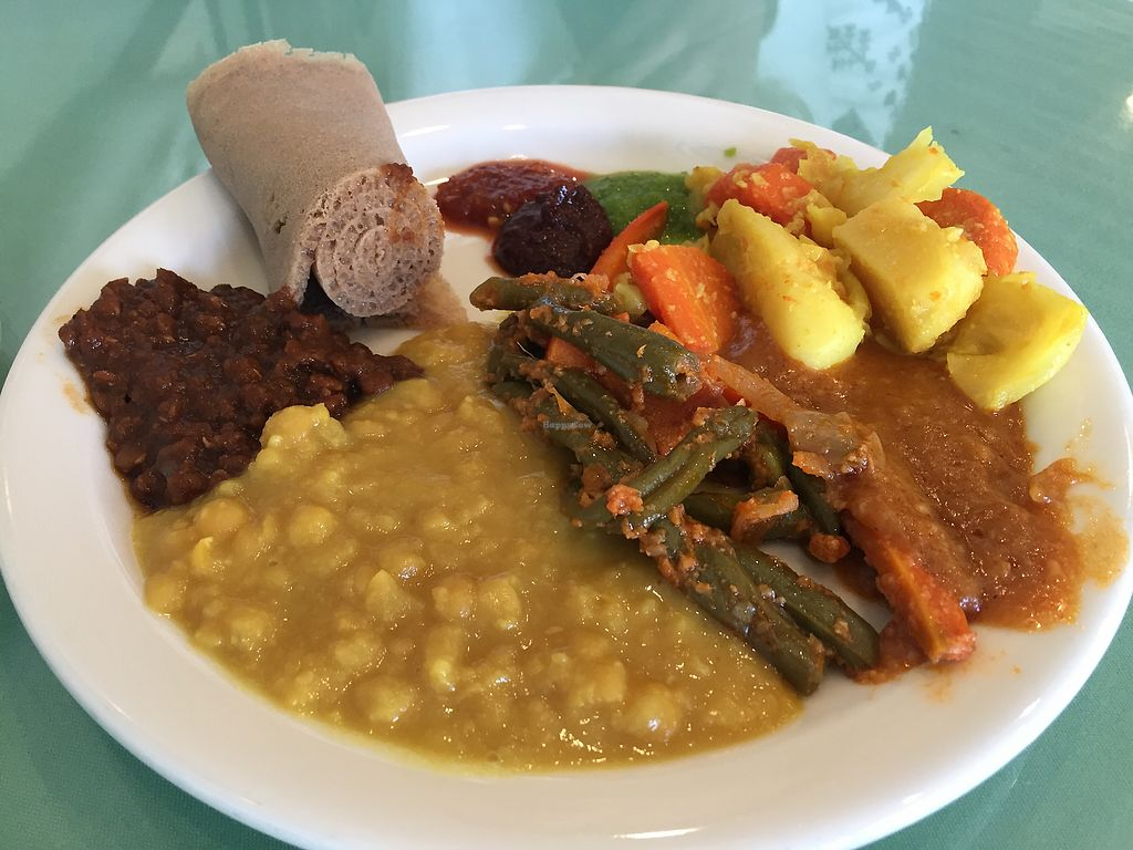 Rahel Ethiopian Vegan Cuisine Los Angeles California