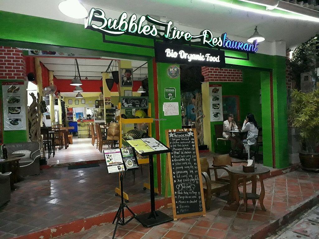 Bubbles Live - Chiang Mai Restaurant - HappyCow