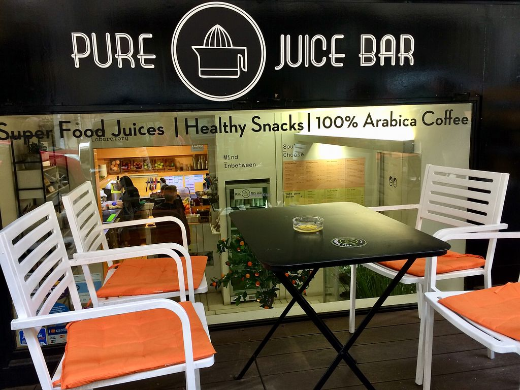 Pure juice bar at pure juice bar in athens