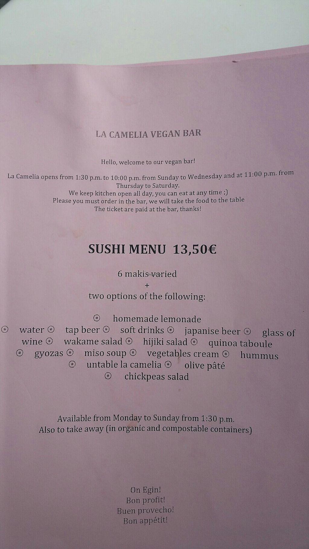 La Camelia Vegan Bar Bilbao Restaurant Happycow