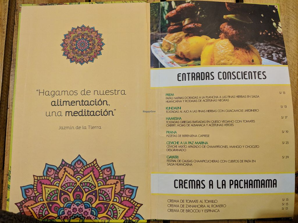 El Jardin de Jazmin - Lima Restaurant - HappyCow