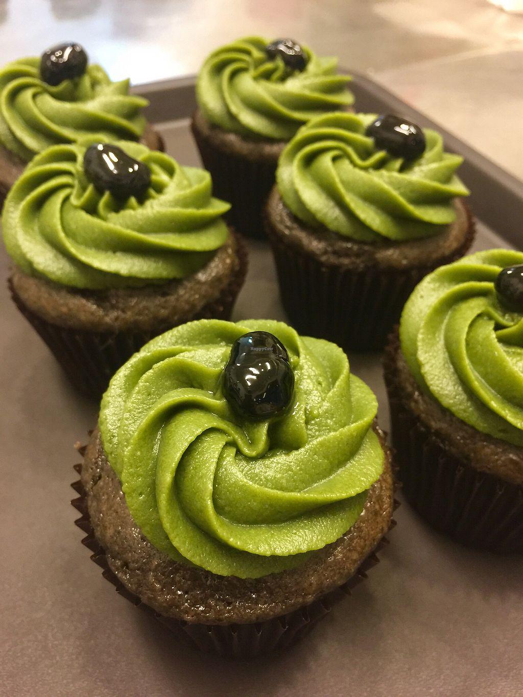 Mocha Cupcakes At Green Bakery In Taipei
