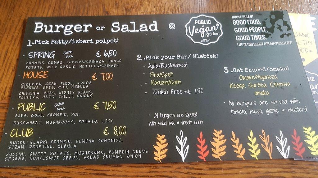 Public Bar Vegan Kitchen Bled Restaurant Happycow