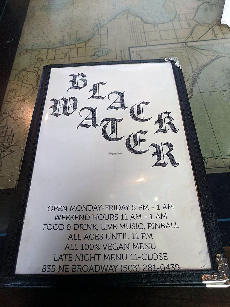Black Water Bar - Portland Oregon Restaurant - HappyCow