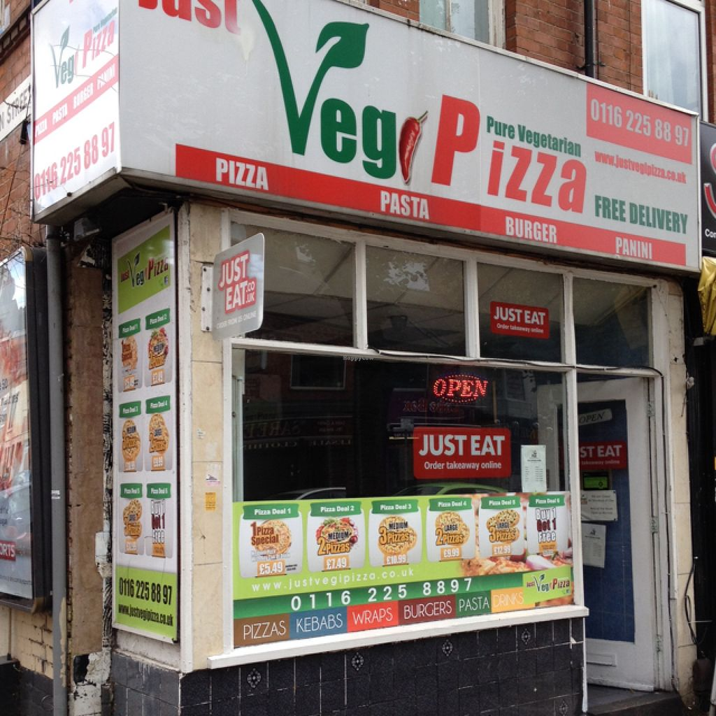 Closed Just Veg Pizza Leicester Restaurant Happycow