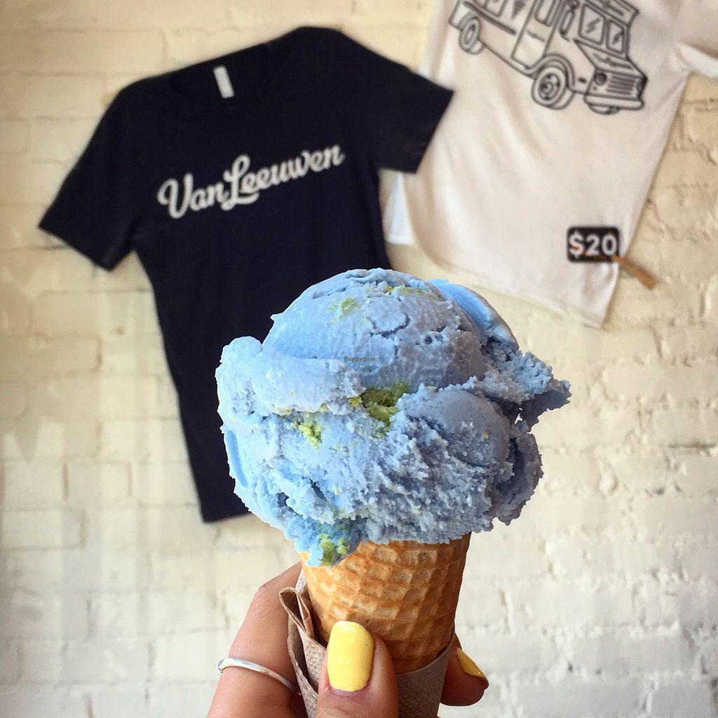 b3b5157b74 Planet Earth (featuring their t-shirts) at Van Leeuwen Ice Cream - Boerum