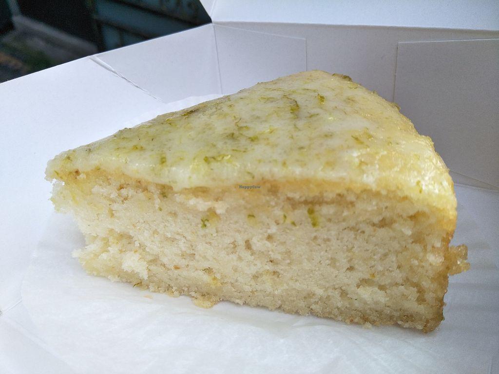 Lemon Cake At Vegan Heaven In Taipei