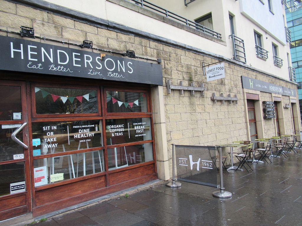 Hendersons Holyrood Edinburgh Restaurant Happycow