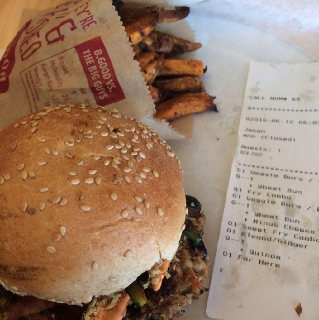 B GOOD - Mt Laurel New Jersey Restaurant - HappyCow