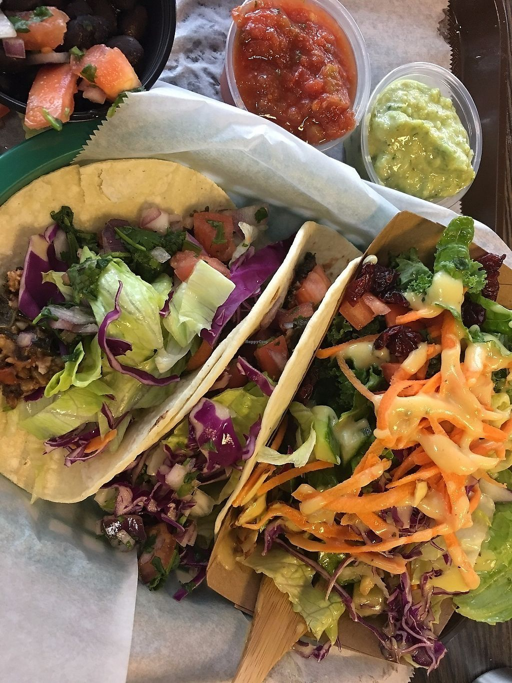Friday Special Vegan Tacos At Eatery 17 In Wilmington