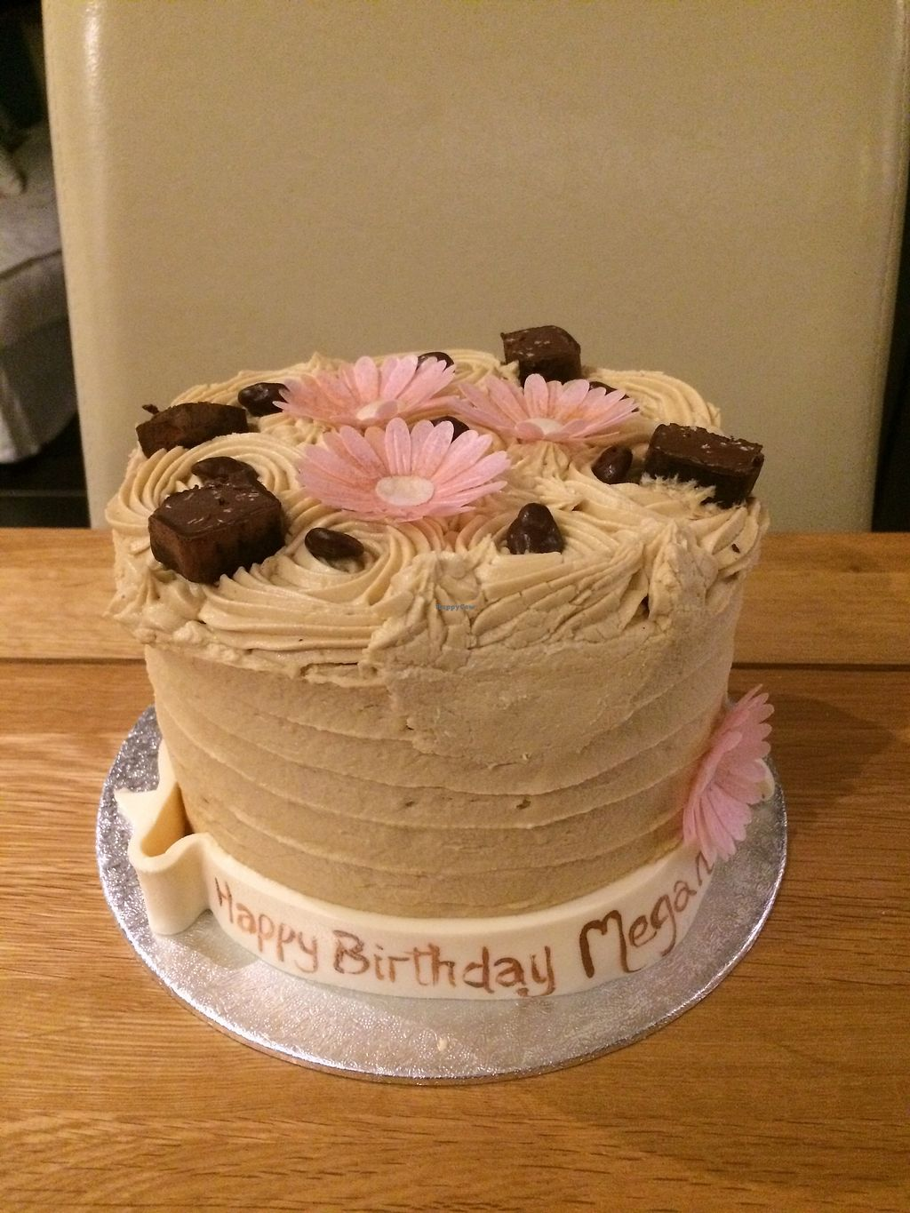 Birthday Coffee Cake At The Exclusive Shop Vintage Tearoom In Chichester