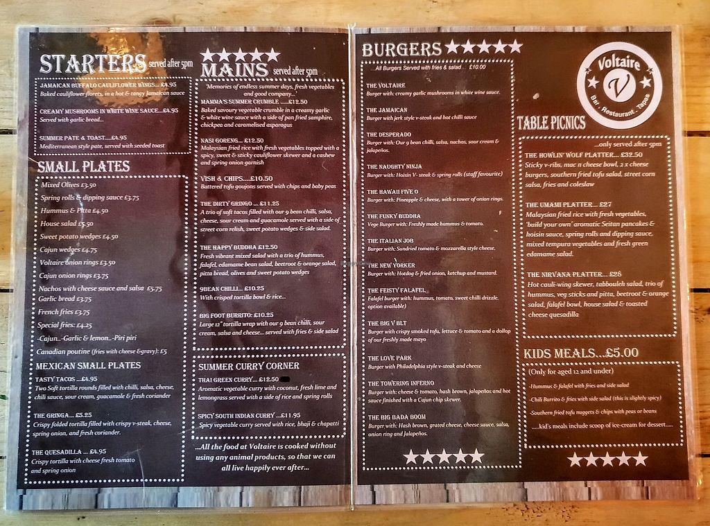 Voltaire Bangor Restaurant Happycow