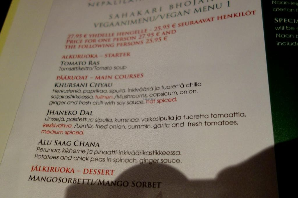 Pikku-Nepal - Helsinki Restaurant - HappyCow