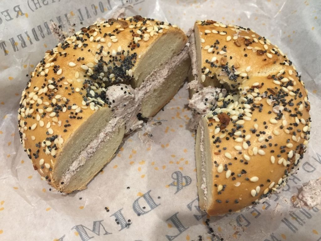 Olive And Zaatar With Vegan Cream Cheese July  Dime