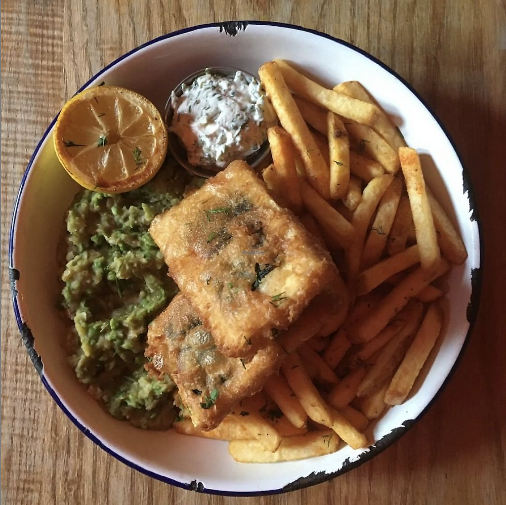Image result for fish and chips deaf institute