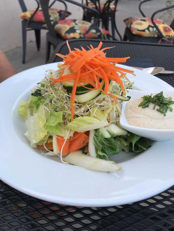 Asian Salad At Vibrance In Albuquerque
