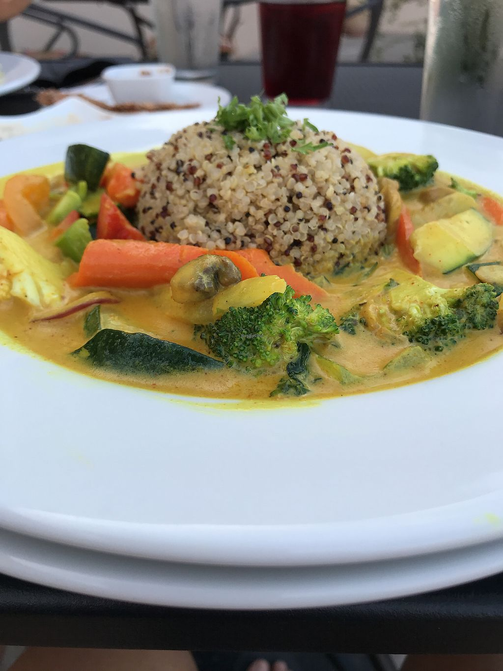 Coconut Curry At Vibrance In Albuquerque