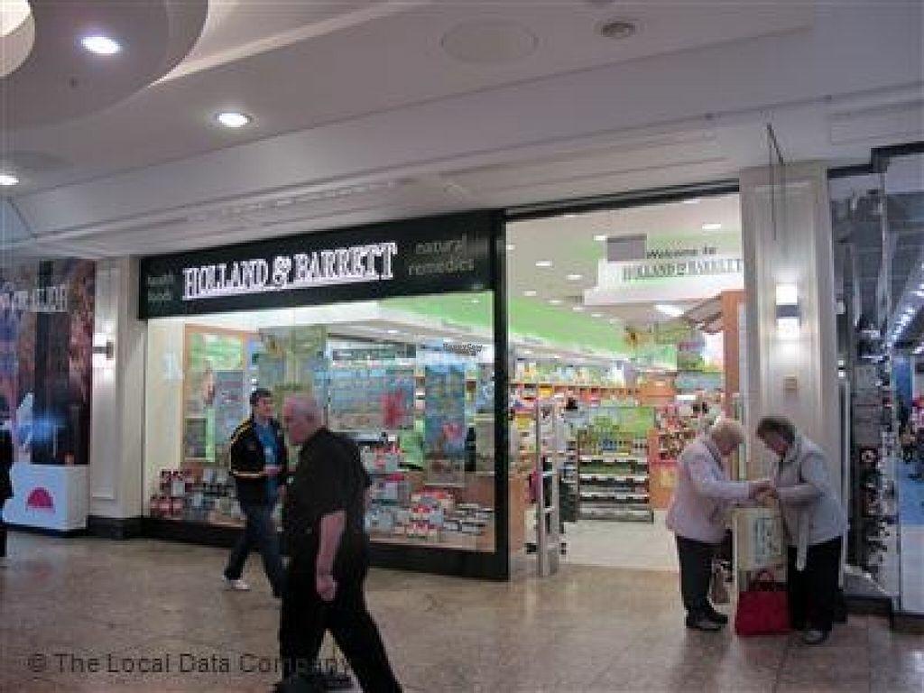 Holland Barrett Meadowhall Sheffield Health Store