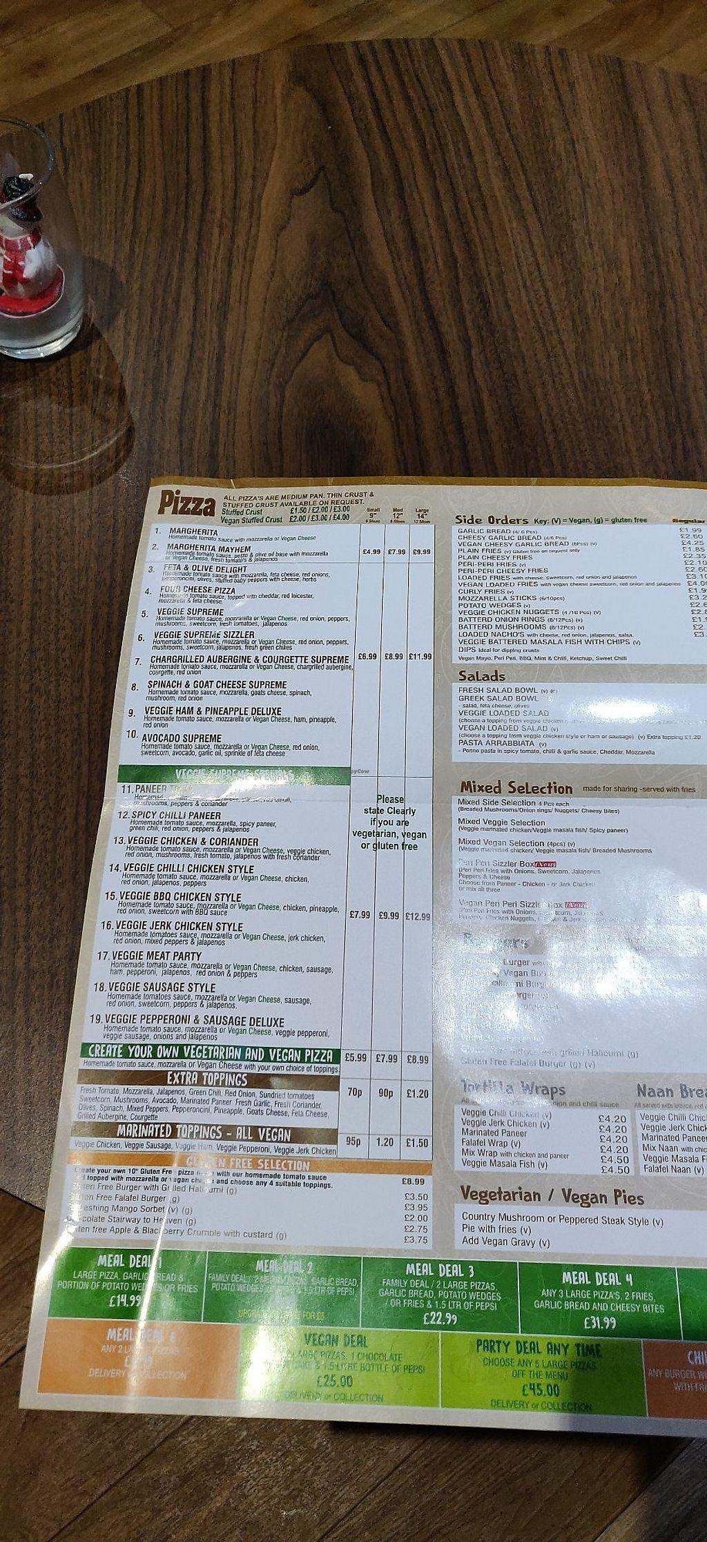 Veggie Supreme Wolverhampton Restaurant Happycow