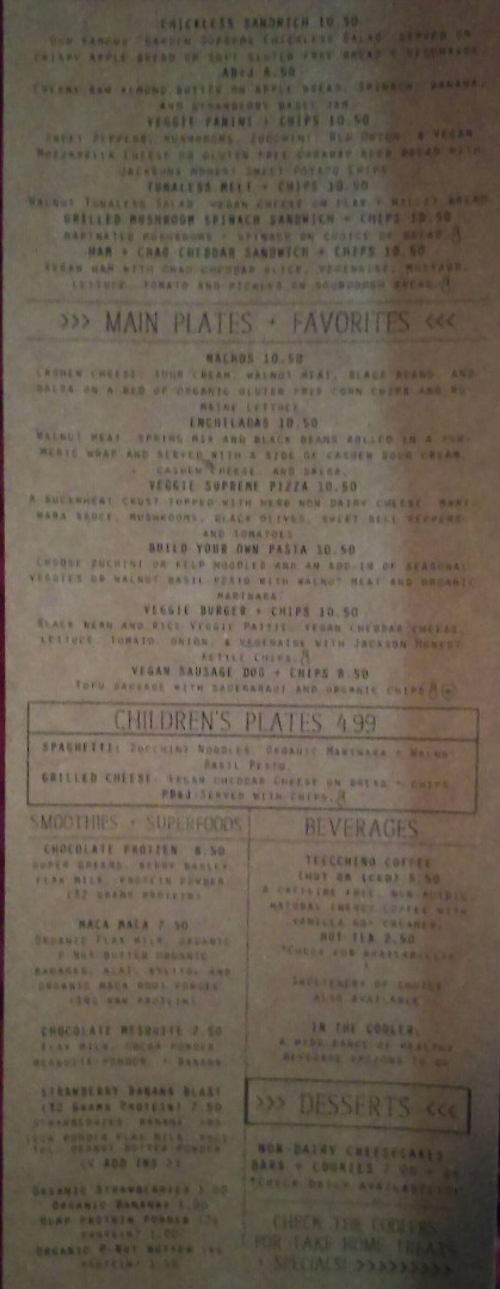 Eve's Garden - Dothan Alabama Restaurant - HappyCow