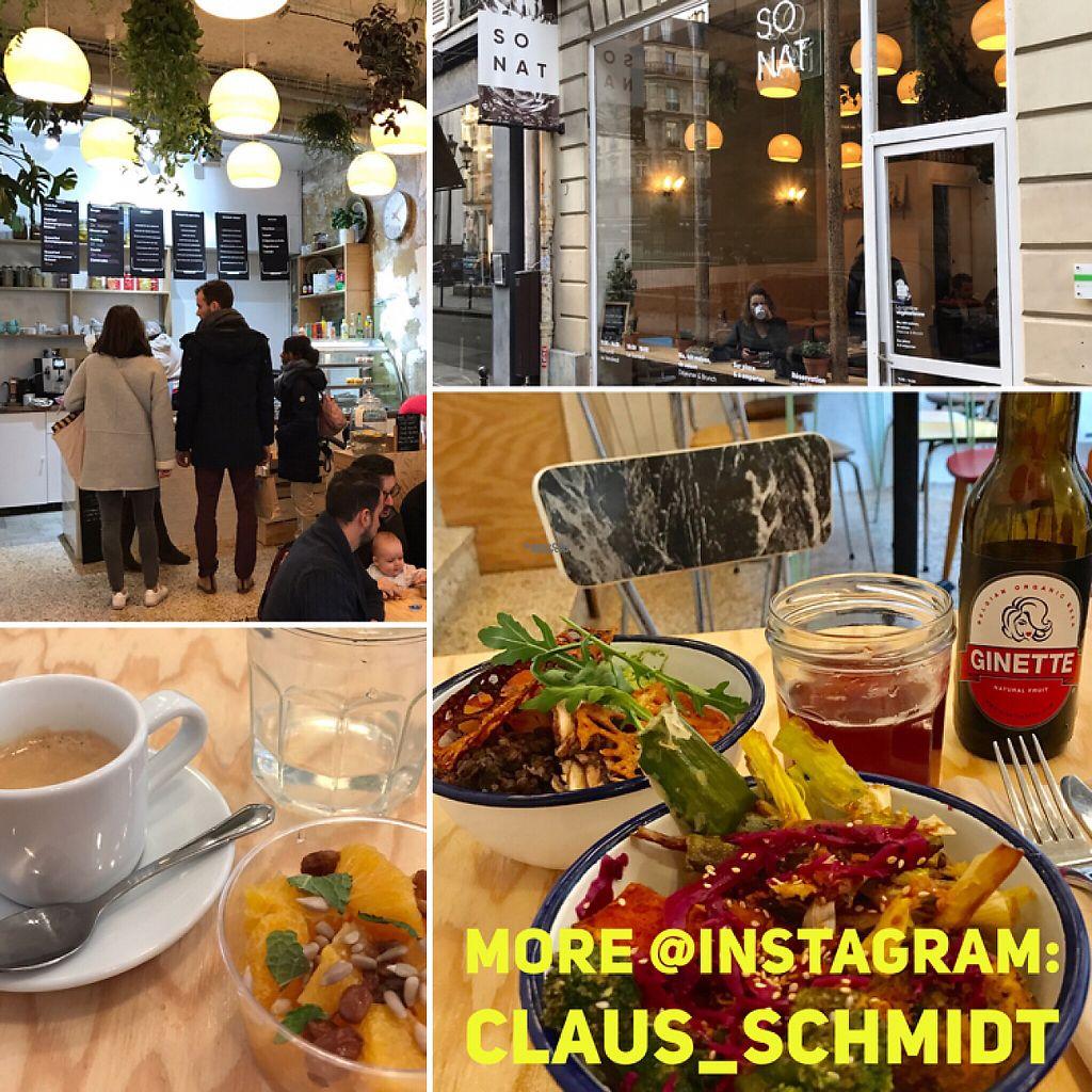 Cuisine Schmidt Marseille 13009 so nat - bourdaloue - paris restaurant - happycow