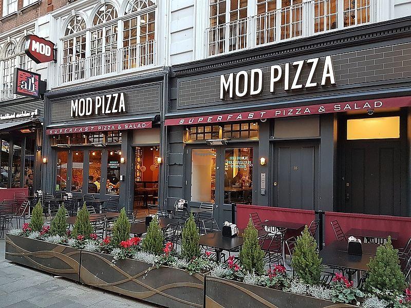 Mod Pizza London Restaurant Happycow