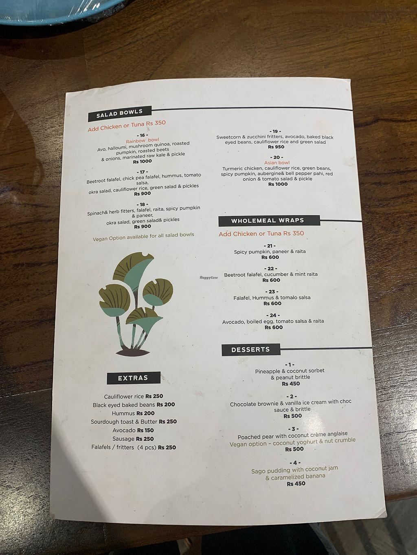 Milk & Honey Cafe   Colombo Restaurant   HappyCow