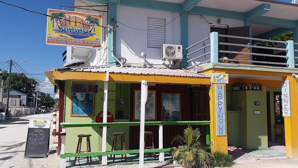 Fantasy Dining Caye Caulker Restaurant Happycow