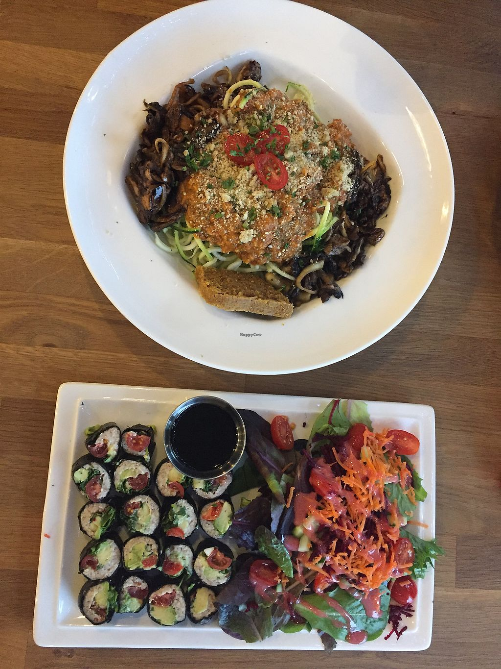 Nulife Living Food Cafe Coquitlam British Columbia Restaurant Green Coffee Bolognese Cilantro Sushi Happy Me At In