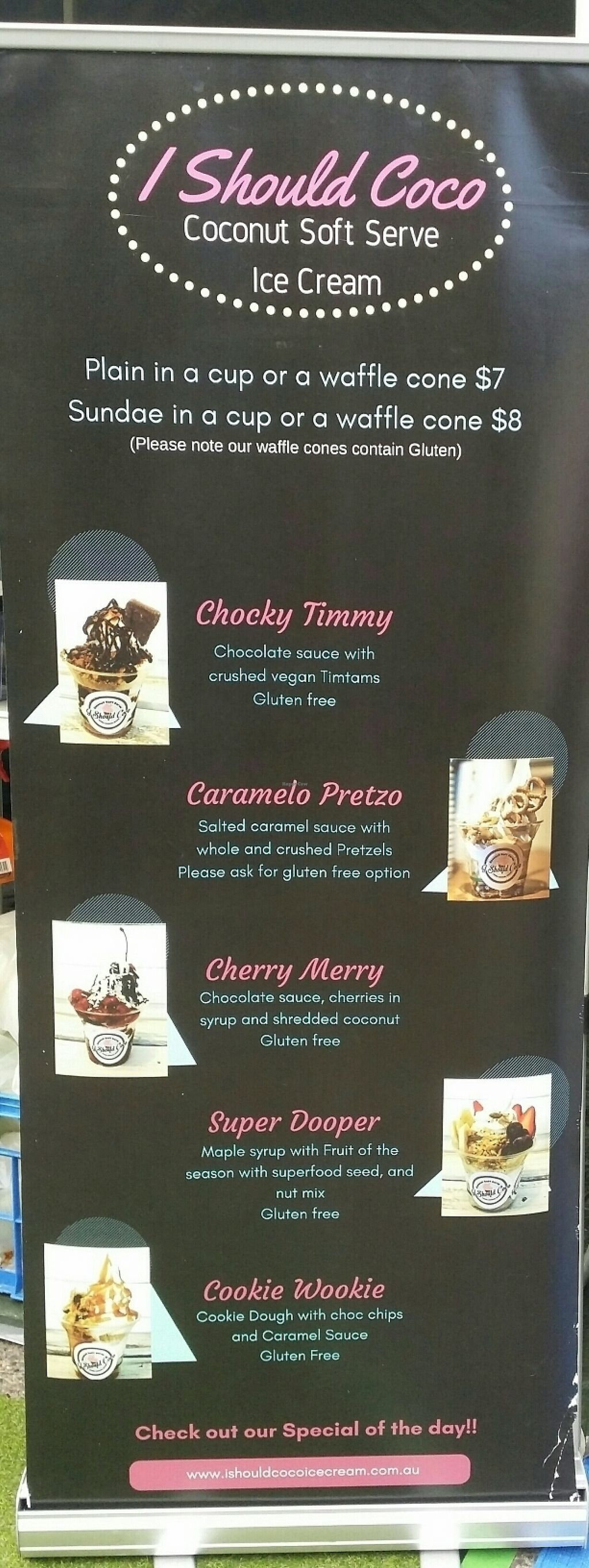 I Should Coco Ice Cream - Brisbane Queensland Catering