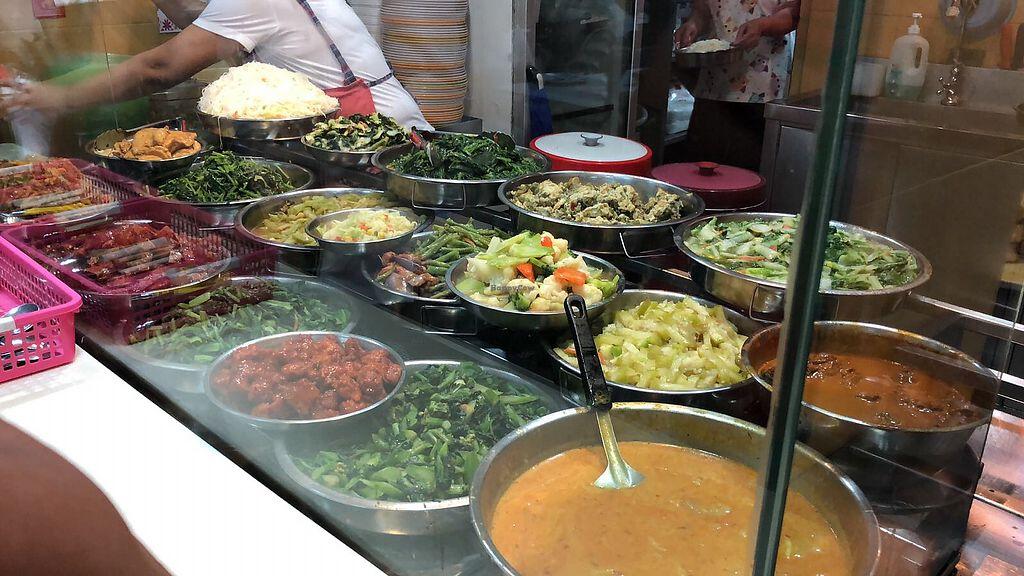 Nanyang Polytechnic Block P - Vegetarian Stall - Northeast