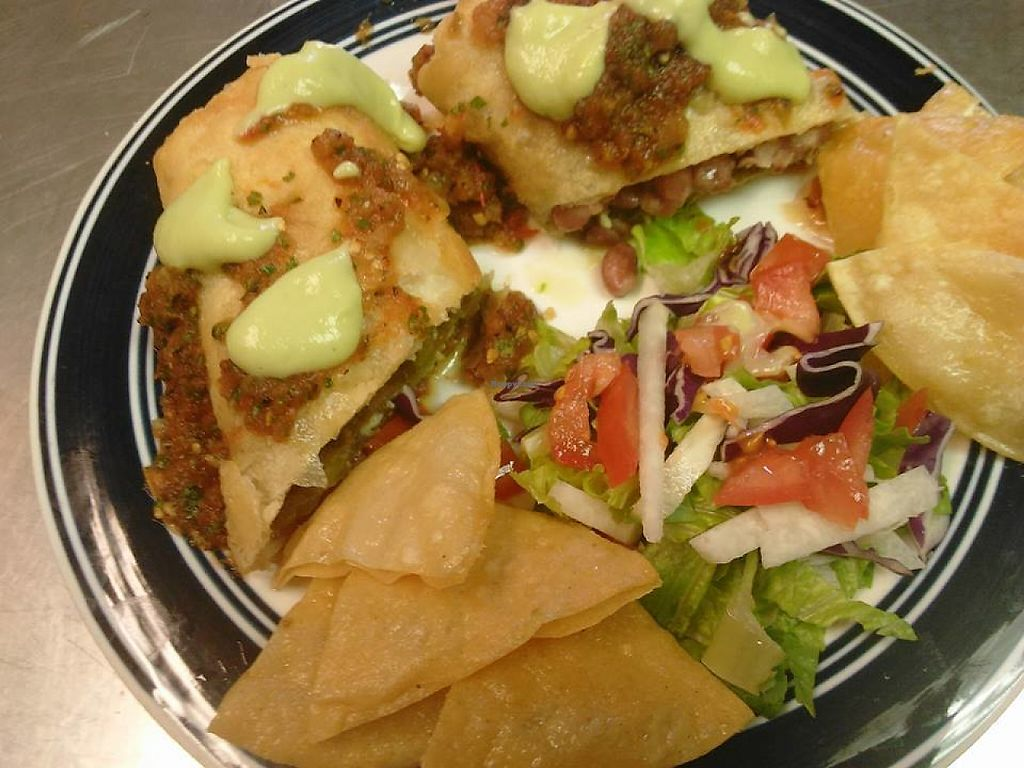 Almost Famous Chimichangas tamales especiales - englewood colorado catering - happycow
