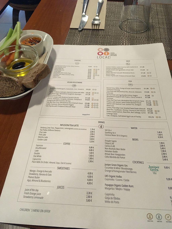 Local Your Healthy Kitchen Cascais Restaurant Happycow