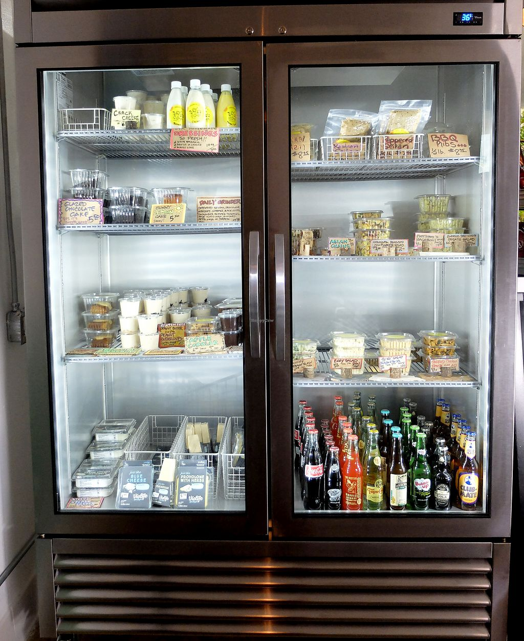 Lots of grab and go and take home items at chef tanyas kitchen in palm springs