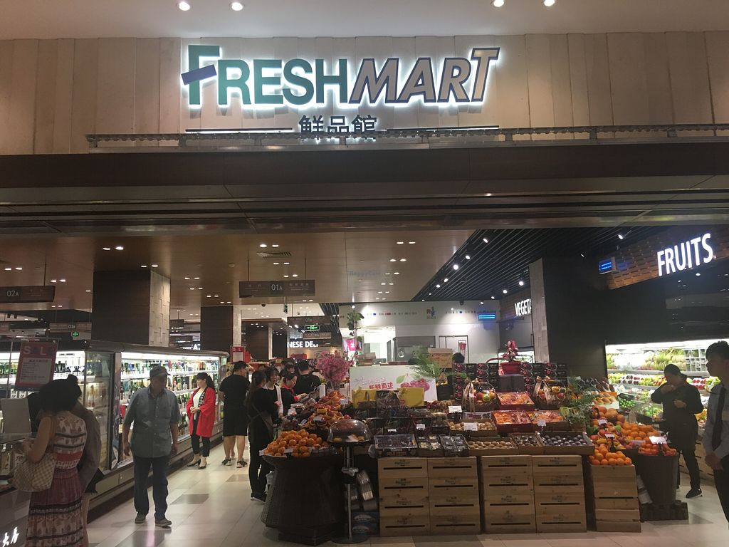 Freshmart Supermarket - SOGO Jiu Guang - Shanghai Health