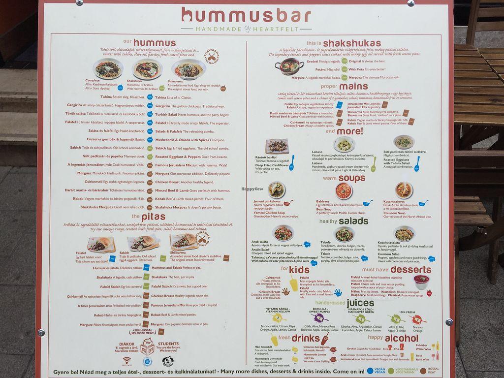 Hummus Bar Vegetarian - Hollan Erno - Budapest Restaurant - HappyCow