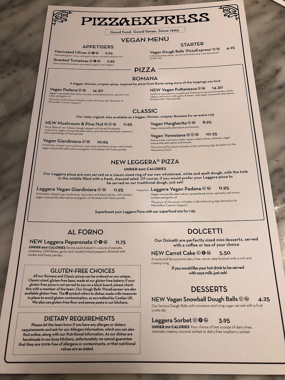 Pizza Express Carlisle Restaurant Happycow