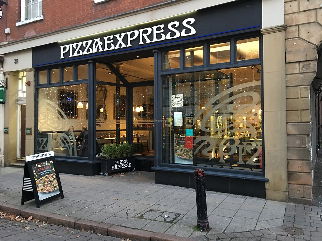 Pizza Express Irongate Derby Restaurant Happycow