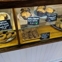 Vegan Muffins at BreadHive Bakery & Cafe in Buffalo